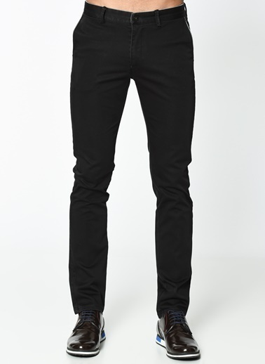 Wessi Chino Pantolon Siyah